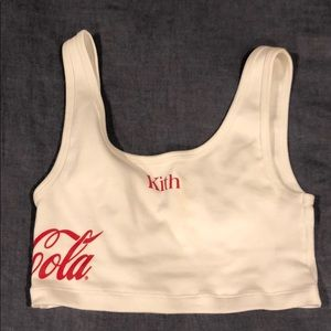 Kith Tops - Kith x Coca Cola crop top